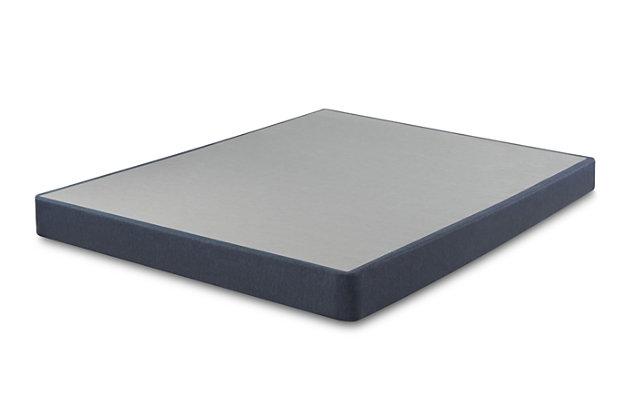 Serta Perfect Sleeper Twin Foundation Low Profile, Blue, large