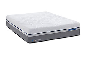 Posturepedic Hybrid Cobalt Firm Full Mattress, White, large