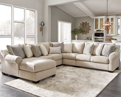 Carnaby 5 Piece Sectional With Chaise Ashley Furniture Homestore