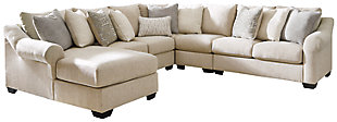 Carnaby 5-Piece Sectional with Chaise, , large