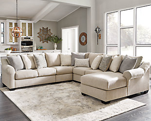 Carnaby 5-Piece Sectional with Chaise, , rollover