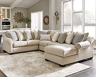 Carnaby 4 Piece Sectional with Chaise, , rollover