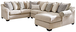 Carnaby 4 Piece Sectional with Chaise, , large
