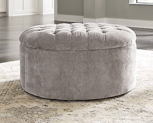 Carnaby Oversized Accent Ottoman, , large