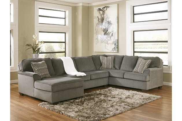 Loric 3 Piece Sectional With Chaise, Ashley Furniture Peoria