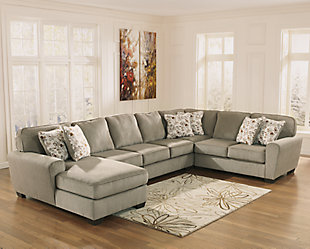 Patola Park 5-Piece Sectional with Chaise, , rollover