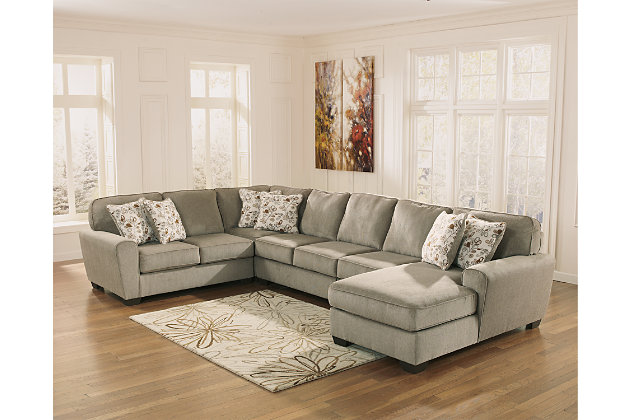 Patola Park 5-Piece Sectional with Chaise, , large