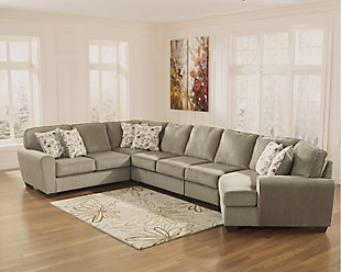 Patola Park 5-Piece Sectional with Cuddler, , large