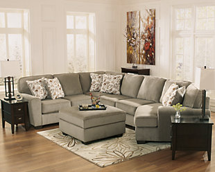 Patola Park 4-Piece Sectional with Ottoman, , large