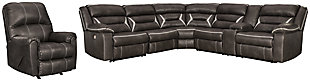 Kincord 4-Piece Sectional with Recliner, , large