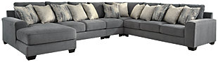 Castano 5-Piece Sectional with Chaise, , large