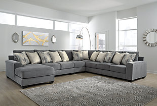 Castano 5-Piece Sectional with Chaise, , rollover