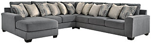 Castano 4-Piece Sectional with Chaise, , large