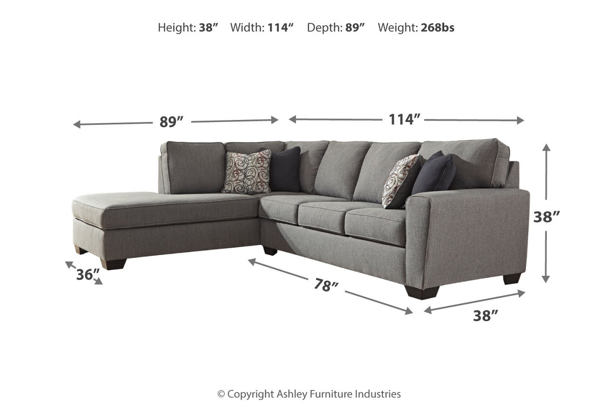Sensational Larusi 2 Piece Sectional With Chaise Ashley Furniture Forskolin Free Trial Chair Design Images Forskolin Free Trialorg