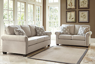 Farouh Sofa And Loveseat Large