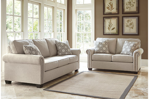 knox loveseat durablend a coffee steal leather ashley sofa furniture yhst and