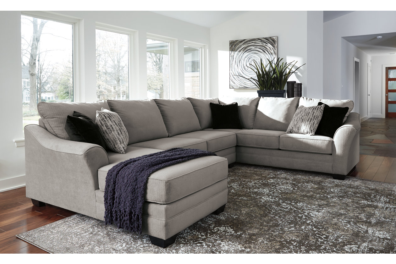 Palempor 3 Piece Sectional With Chaise