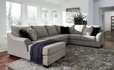Palempor 3 Piece Sectional With Chaise Ashley Furniture Homestore