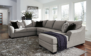 Palempor 3-Piece Sectional with Chaise, , rollover