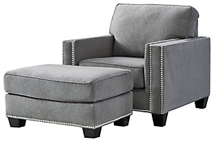 Barrali Chair and Ottoman, , large