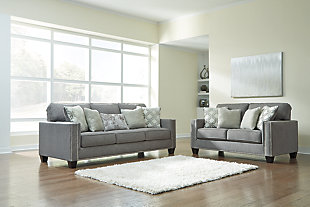 Barrali Sofa and Loveseat, , large