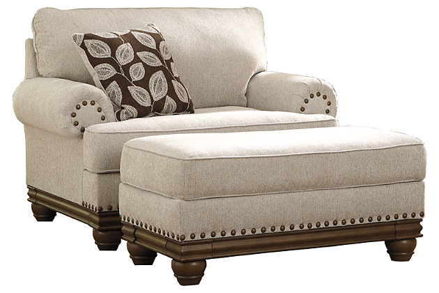 Harleson Chair and Ottoman, , large