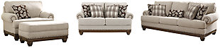 Harleson Sofa, Loveseat, Chair and Ottoman, , large