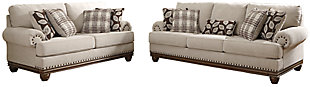 Harleson Sofa and Loveseat, , large