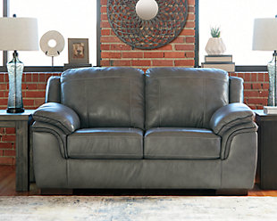 Islebrook Loveseat, Iron, rollover