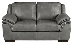 Islebrook Loveseat, Iron, large