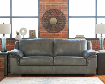 Iron Leather Sofa Product Photo 593