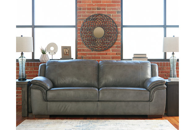Islebrook Sofa, Iron, large
