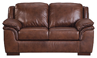 Islebrook Loveseat, Canyon, large