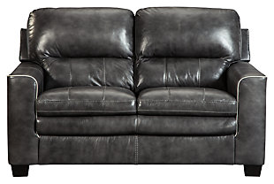 Gleason Loveseat, Charcoal, large