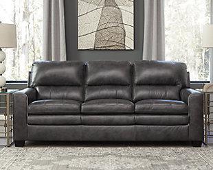 Gleason Sofa, Charcoal, rollover