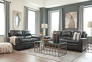 Gleason Sofa, Charcoal, large