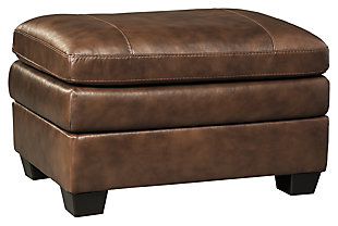 Gleason Chair Ottoman, Canyon, large