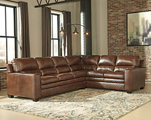 Gleason 2-Piece Sectional, Canyon, large