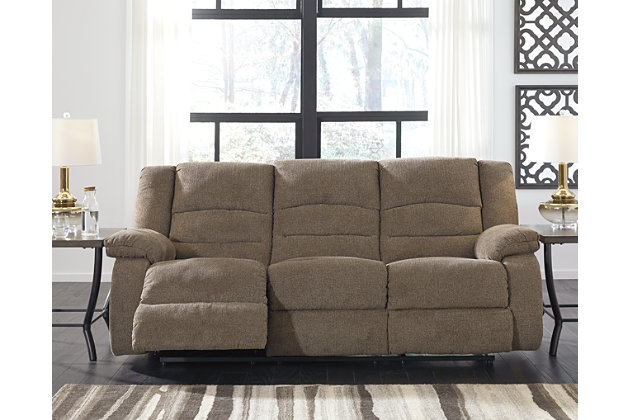 Nason reclining sofa ashley furniture homestore - Ashley wilkes bedroom collection ...