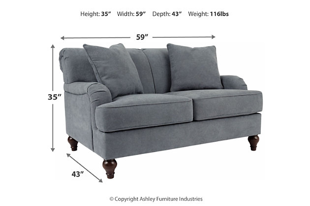 Renly Loveseat, , large