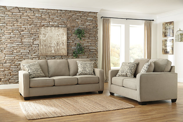 Alenya Sofa And Loveseat Ashley