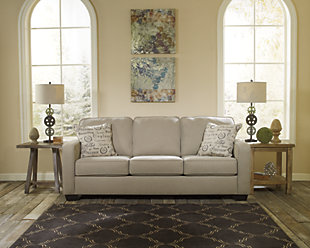 Alenya Queen Sofa Sleeper Quartz Large