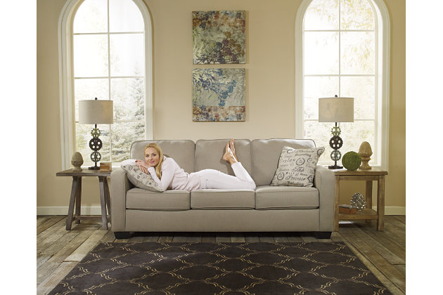 Alenya Sofa, Quartz, large