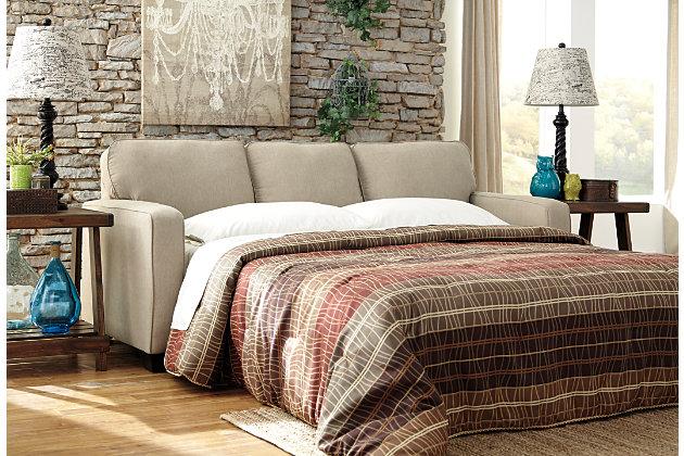 Alenya queen sofa sleeper in quartz - Alenya Queen Sofa Sleeper Ashley Furniture HomeStore