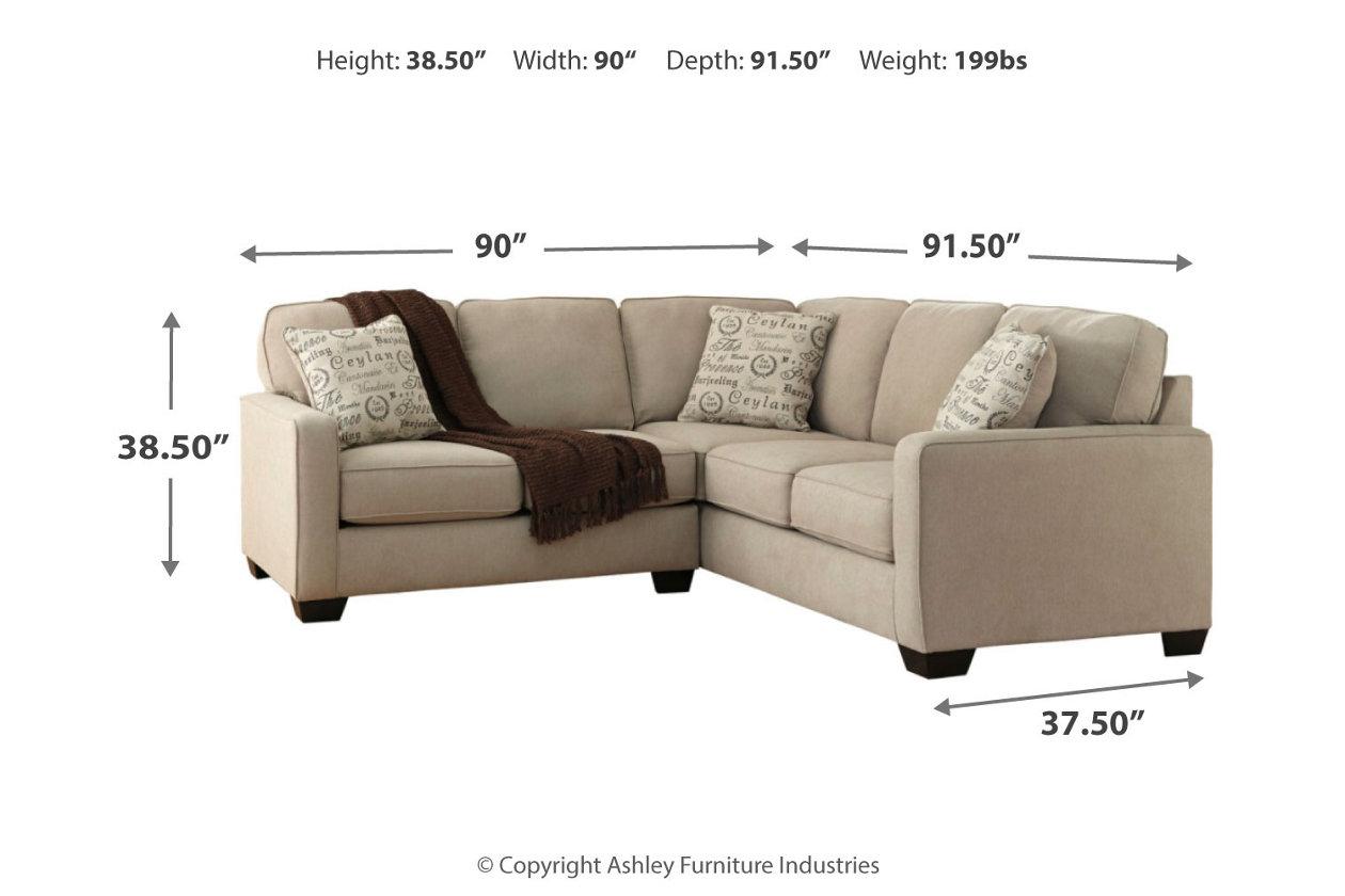 Cool Alenya 2 Piece Sectional Ashley Furniture Homestore Beatyapartments Chair Design Images Beatyapartmentscom