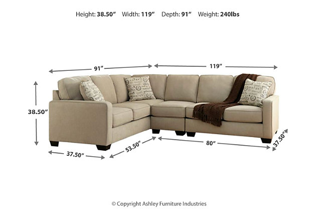Alenya 3-Piece Sectional, , large