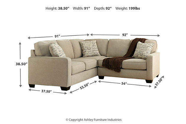 Alenya 2-Piece Sectional, Quartz, large