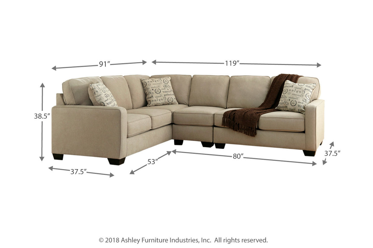 Cool Alenya 3 Piece Sectional Ashley Furniture Homestore Inzonedesignstudio Interior Chair Design Inzonedesignstudiocom