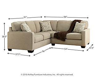 Alenya 2-Piece Sectional, Quartz, large