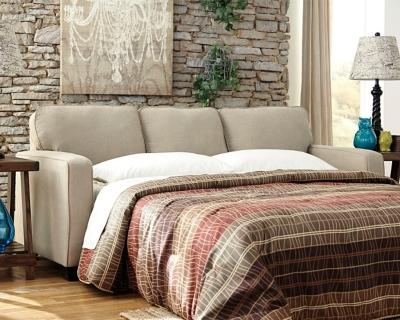 Alenya Queen Sofa Sleeper, Quartz, large